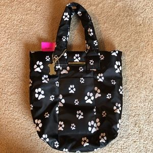 Betsey Johnson Dog Paw Tote 🐾